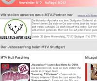 MTV Stuttgart 1843 e.V. - Immer gut informiert...