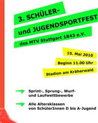 MTV Stuttgart 1843 e.V. - Leichtathletiksportfest