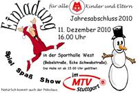 MTV Stuttgart 1843 e.V. - Kinder-Weihnachtsfeier 2010