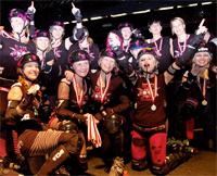 MTV Stuttgart 1843 e.V. - Rollergirlz werden 1.Deutscher Meister