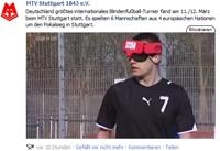 MTV Stuttgart 1843 e.V. - Blindenfußball in der Landesschau