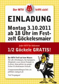 MTV Stuttgart 1843 e.V. - Der MTV trifft sich!