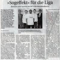 MTV Stuttgart 1843 e.V. MTV hat neuen Partner aus dem Allgäu