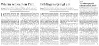 MTV Stuttgart 1843 e.V. - Wie im schlechten Film ...