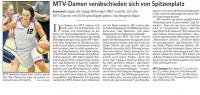 MTV Stuttgart 1843 e.V. - MTV-Damen verabschieden sich von Spitzenplatz