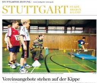 MTV Stuttgart 1843 e.V. - Vereinsangebote stehen auf der Kippe