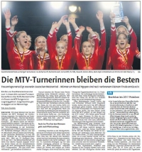 MTV Stuttgart 1843 e.V. - Die MTV-Turnerinnen bleiben die Besten