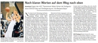 MTV Stuttgart 1843 e.V. - Nach klaren Worten auf dem Weg nach oben