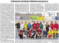 MTV Stuttgart 1843 e.V. - Blindenfußballer kommen gut an