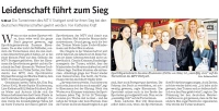 MTV Stuttgart 1843 e.V. - Leidenschaft führt zum Sieg