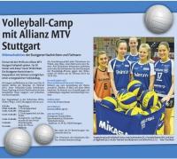 MTV Stuttgart 1843 e.V. - Volleyball-Camp mit Allianz MTV Stuttgart