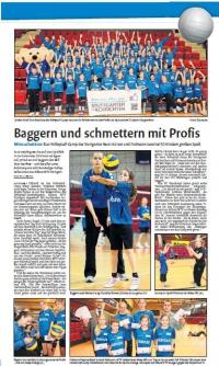 MTV Stuttgart 1843 e.V. - Baggern und schmettern mit Profis