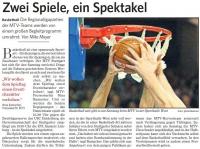 MTV Stuttgart 1843 e.V. - Zwei Spiele, ein Spektakel