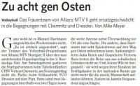 MTV Stuttgart 1843 e.V. - Zu acht gen Osten