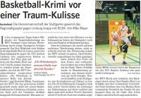 MTV Stuttgart 1843 e.V. - Basketball-Krimi vor einer Traum-Kulisse