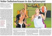 MTV Stuttgart 1843 e.V. - Voller Selbstvertrauen in das Spitzenspiel
