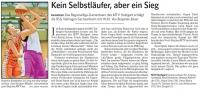 MTV Stuttgart 1843 e.V. - Kein Selbstläufer, aber ein Sieg