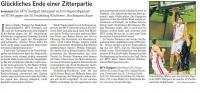 MTV Stuttgart 1843 e.V. - Glückliches Ende einer Zitterpartie