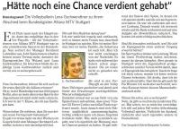 MTV Stuttgart 1843 e.V. - Hätte noch eine Chance verdient gehabt