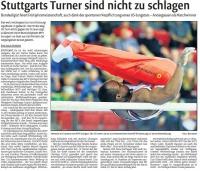 MTV Stuttgart 1843 e.V. - Stuttgarts Turner sind nicht zu schlagen