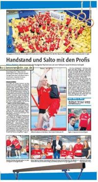 MTV Stuttgart 1843 e.V. - Handstand und Salto mit den Profis