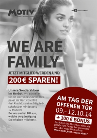 MTV Stuttgart 1843 e.V. - Tage der offenen T�r im MOTIV vom 9.-12.10.14