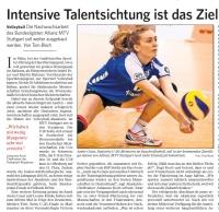 MTV Stuttgart 1843 e.V. - Volleyball Akademie erfolgreich