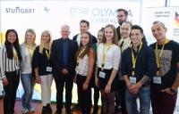 MTV Stuttgart 1843 e.V. - MTV Olympioniken vom OB empfangen
