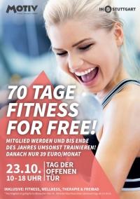 MTV Stuttgart 1843 e.V. - 70 Tage Fitness geschenkt!