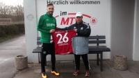"""MTV Stuttgart 1843 e.V. - Kenan auf heimischem """"Fußballboden"""""""