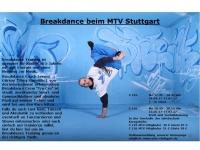 MTV Stuttgart 1843 e.V. - Breakdance beim MTV Stuttgart