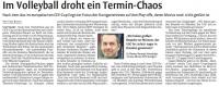 MTV Stuttgart 1843 e.V. - Im Volleyball droht ein Termin-Chaos