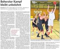 MTV Stuttgart 1843 e.V. - Beherzter Kampf bleibt unbelohnt