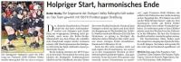 MTV Stuttgart 1843 e.V. - Holpriger Start, harmonisches Ende