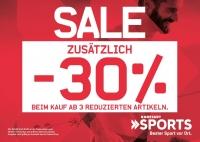 MTV Stuttgart 1843 e.V. - SALE BEI KARSTADT SPORTS  STUTTGART