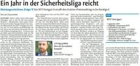 MTV Stuttgart 1843 e.V. - Ein Jahr in der Sicherheitsliga reicht