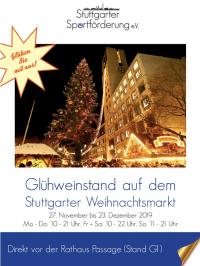 MTV Stuttgart 1843 e.V. - Glühweinstand Weihnachtsmarkt