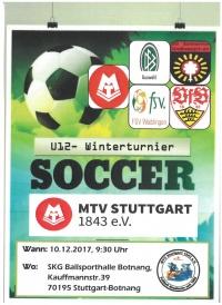 MTV Stuttgart 1843 e.V. - Leistungsvergleichsturnier