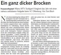 MTV Stuttgart 1843 e.V. - Ein ganz dicker Brocken