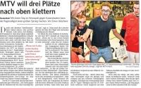 MTV Stuttgart 1843 e.V. - MTV will drei Plätze nach oben klettern