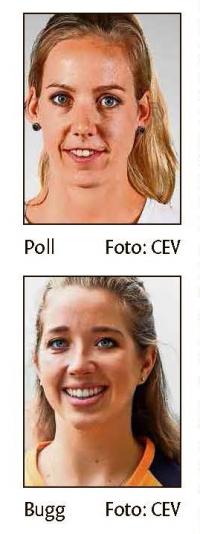 MTV Stuttgart 1843 e.V. - Volleyballerinnen Poll und Bugg neu in Stuttg