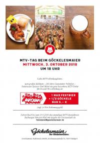 MTV Stuttgart 1843 e.V. - Volksfest MTV Tag beim Göckelesmaier