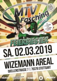 MTV Stuttgart 1843 e.V. - MTV FASCHING 2019 – FEIER BIESTER