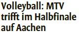 MTV Stuttgart 1843 e.V. - Volleyball