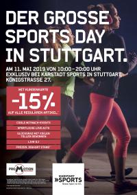 MTV Stuttgart 1843 e.V. - Großer Sports Day am 11.05.2019, 10-20 Uhr