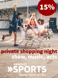 MTV Stuttgart 1843 e.V. - PRIVATE SHOPPING NIGHT