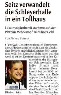 MTV Stuttgart 1843 e.V. - Elisabeth Seitz Sensation