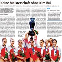 MTV Stuttgart 1843 e.V. - Turnerinnen werden deutsche Meister