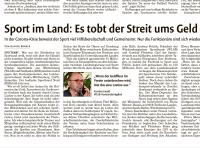 MTV Stuttgart 1843 e.V. - Streit ums Geld