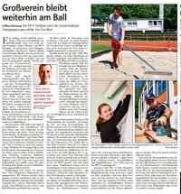 MTV Stuttgart 1843 e.V. - MTV Stuttgart bleibt am Ball